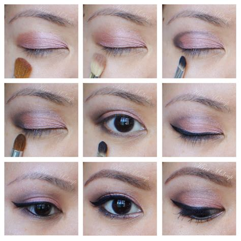 eyeshadow tutorial urban decay 3 urban decay naked 3 rosy eye makeup revisited kirei makeup
