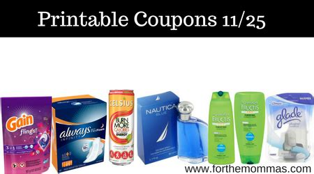 printable coupons for nautica outlet newest printable coupons 11 25 save on celsius glade