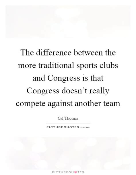 the difference between the more traditional sports clubs