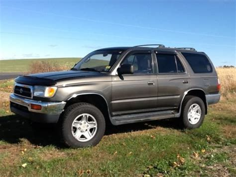 how cars engines work 1997 toyota 4runner security system purchase used 1997 toyota 4runner sr5 sport utility 4 door 3 4l in catawissa pennsylvania