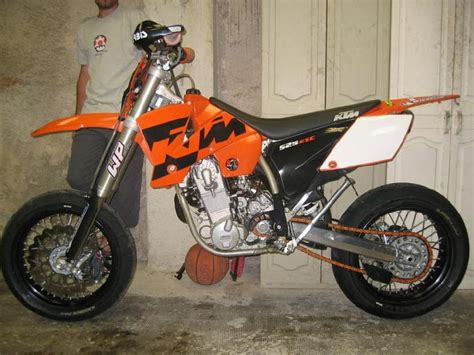 Ktm Exc 525 Supermoto Motorcycle August 2010
