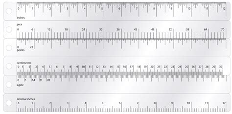 printable ruler actual size pdf printable paper rulers in inches