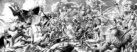 black and white marvel wallpaper comics wallpaper and background image 2599x1000 id 221395