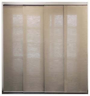 adjustable sliding panel contemporary window blinds by chicology
