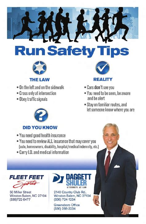 9 tips for running safely running safety tips