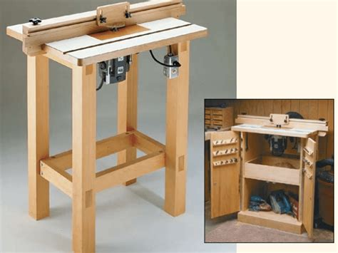 How To Build A Router Table by 8 Free Diy Router Table Plans You Can Use Right Now