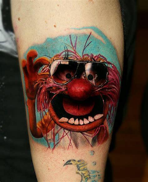 tattoo animal muppets tattoo ideas new post animal from the muppets tattoo