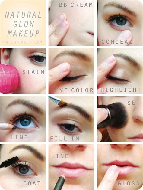 10 Steps For Makeup Look by Tuesday Tip Trending Now The No Makeup Makeup Look