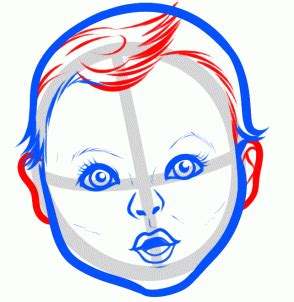 Baby Step 1 20 how to draw the gerber baby step by step