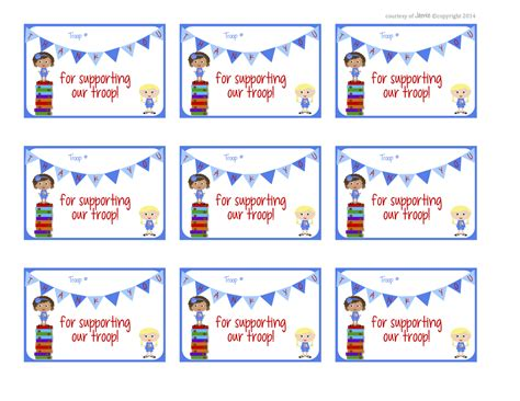 printable thank you cards girl scouts girl scout cookie thank you clipart clipart suggest