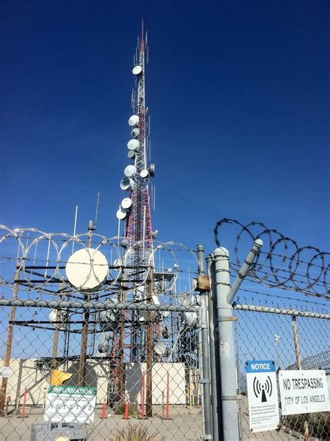 hollywood sign radio tower 17 best images about radio tv towers on pinterest radios