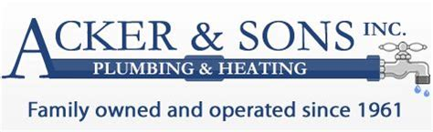Acker Plumbing by Acker Sons Maryland And Dc Plumbing And Heating