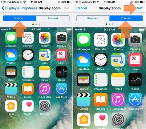 change layout home screen iphone 4 change font size and style in ios 10 iphone ipad ipod touch