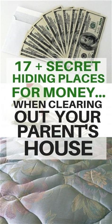 hiding money in house the top 17 secret hiding places for money when clearing out your parent s house