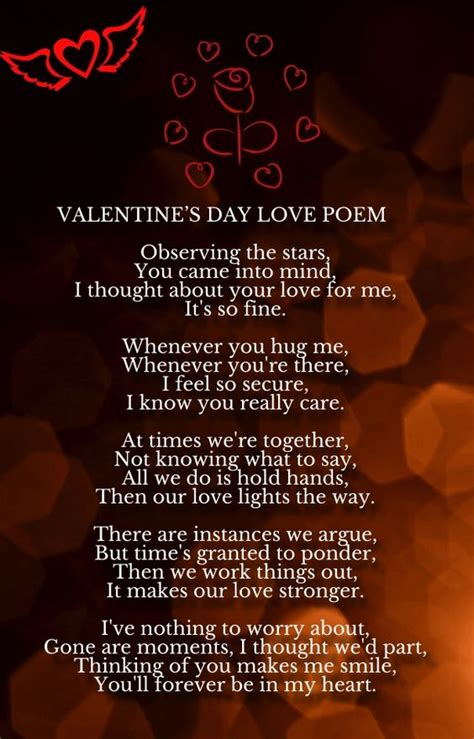 day poems for him valentines poems and poem on