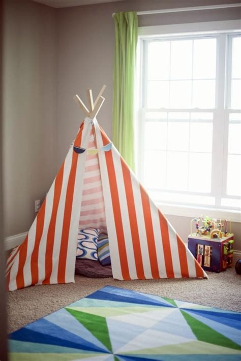 teepee tents for room indian tipi tent in the room of your children moozle interior design ideas avso org