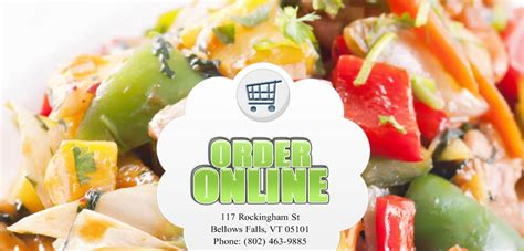 Call China Garden by China Garden Order Bellows Falls Vt 05101