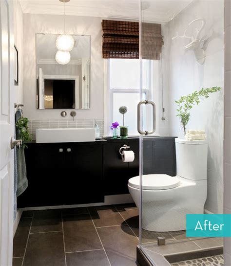 Bathroom Hacks | an ikea hack bathroom makeover 187 curbly diy design community