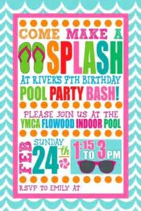best 25 swim invitations ideas on invitations pool