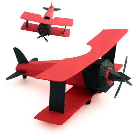 3d paper plane templates 3 3 and more 3d bi plane tutorial