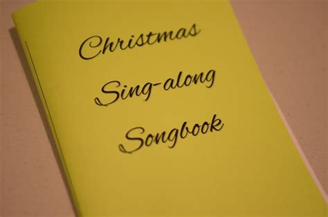 printable christmas songbook christmas songbook free pdf printable a mom s take