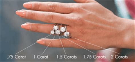 Wedding Ring Vs Normal Ring by What S The Average Size For An Engagement Ring In