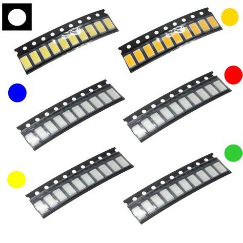 10pcs Smd Led 0805 Yellow Bright Nyala Warna Kuning 10 pcs 0805 colorful smd smt led light l for lights sale banggood