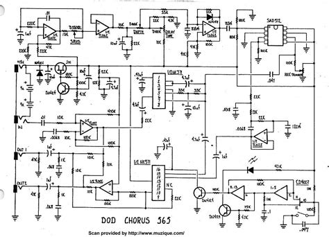 Ibanez Delay Lab Effect Pedal guitar effects schematics projects