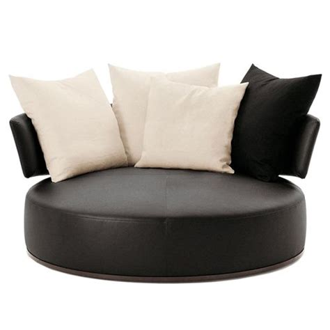 swivel loveseat round swivel loveseat italia maxalto amoenus round