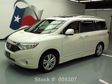 nissan quest sunroof purchase used 2011 nissan quest 3 5 le 7 pass leather