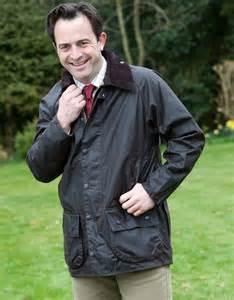 Barbour beaufort jacket large image