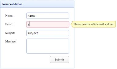 pattern for email validation in php form validation jquery easyui