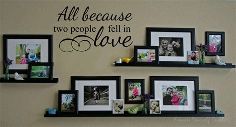 All Because Two People Fell In Love Wall Sticker all because two people fell in love wall decal sticker