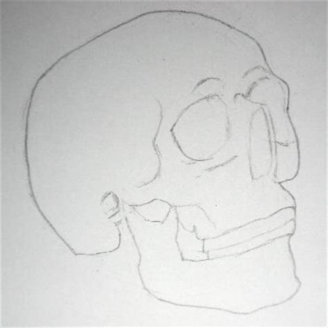 easy pencil drawings pencil drawing of a skull easy steps on how to draw a skull
