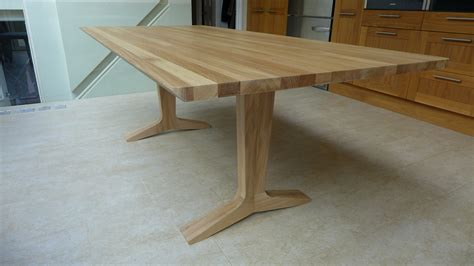 solid oak dining table style within
