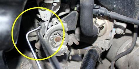 Baut Setelan Angin Honda Matic Injeksi kemeroh cara mengatur langsam motor injeksi
