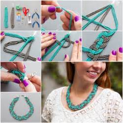 How To Make Your Home Beautiful wonderful diy unique woven bead necklace