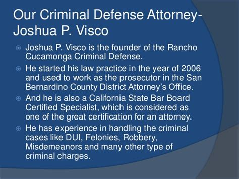Attorney Rancho Cucamonga 1 by Experienced Criminal Defense Attorney In Rancho Cucamonga