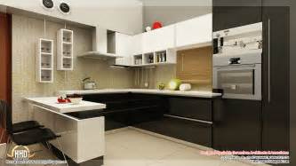 Interiors For Kitchen by Beautiful Home Interior Designs Kerala Home Design And