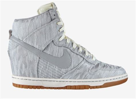 Wedges Kets Replika Nike Silver affordable wedge sneakers from nike now available stylefrizz
