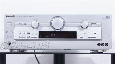 V Audio Surround Panasonic by Panasonic Sa He90 Dolby Digital Av Receiver Second