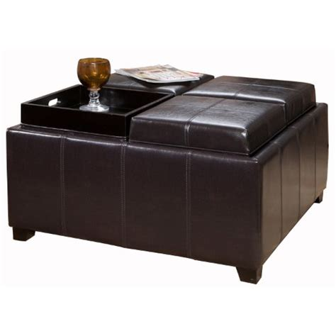 leather tray ottoman leather sofa best dartmouth leather tray ottoman black