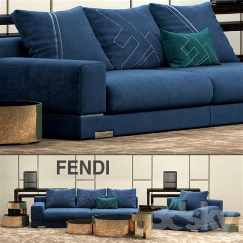divani fendi 3d models sofa sofa fendi casa