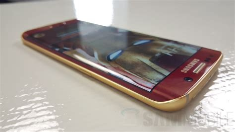Samsung S6 Edge Limited a closer look at the iron galaxy s6 edge and its iron