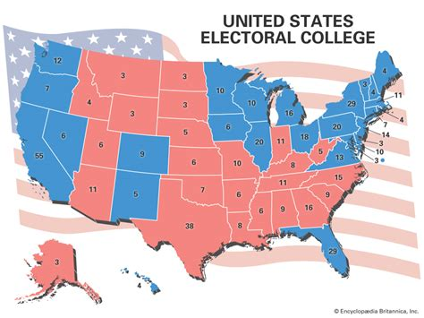 united states electoral college votes by state electoral