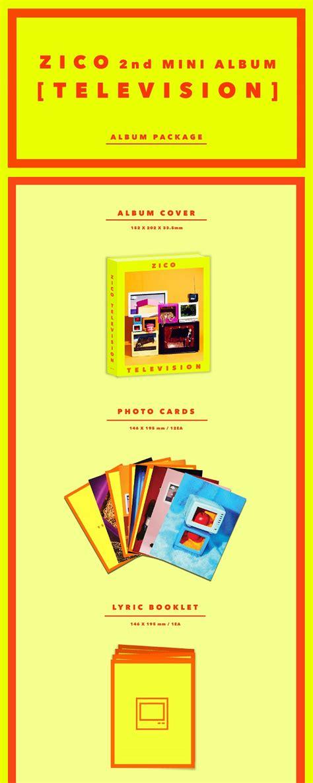 Zico 2nd Mini Album Television block b zico 2nd mini album television sgkpopper