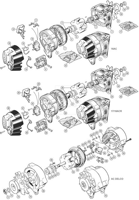 wiring diagram lucas 18 acr alternator wiring diagram