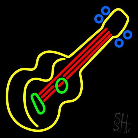 neon light string guitar strings neon sign neon signs neon light