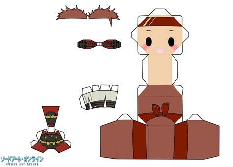 Kirito Papercraft - yifans awesome templates of some papercraft