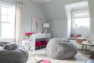 gray girl bedroom pink and gray teen girl bedroom design contemporary